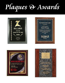 Plaques and Awards